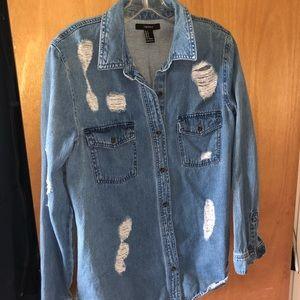 Denim Button up Jacket/Shirt